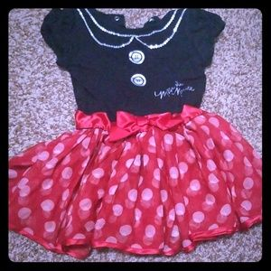 Baby girl Minnie Mouse dress